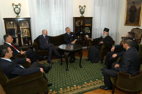 Посета патријарху
