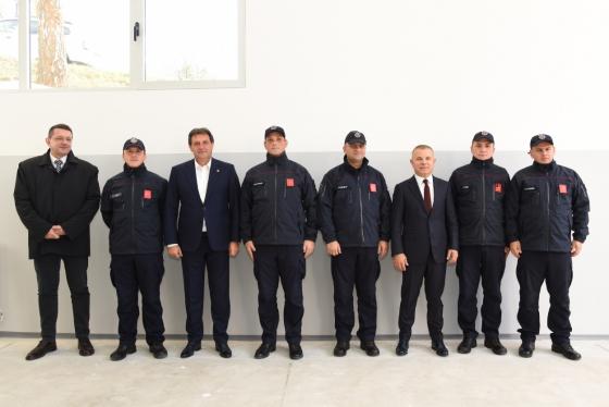 Oтварање Ватрогасно-спасилачког одељења Министарства унутрашњих послова у седишту БИА